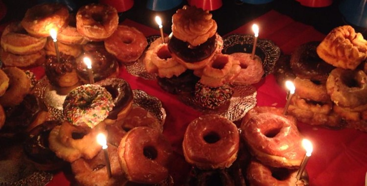 A VERY VOUCHED BIRTHDAY: readings at milk bar