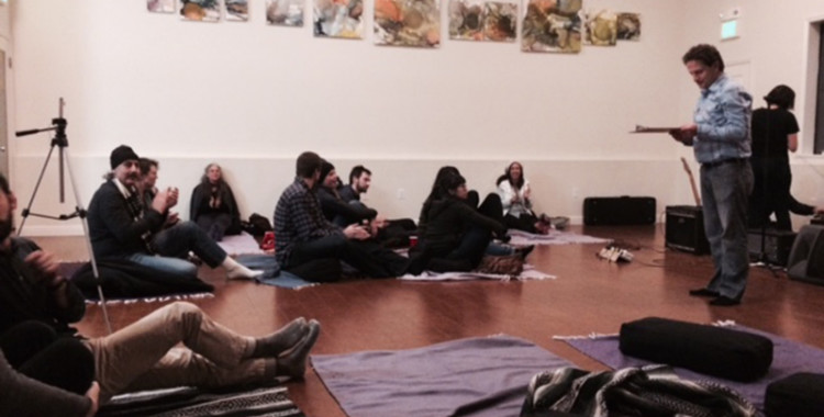 HAPPY BABIES INDEED: opening the year at bernal yoga literary series